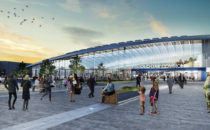 architect's vision of Old Oak Station