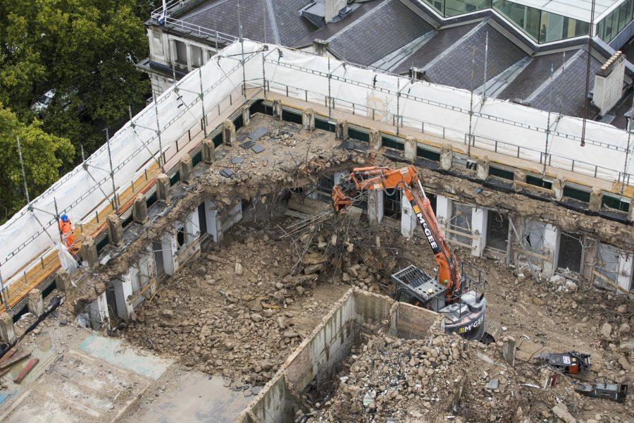 Demolition at Euston
