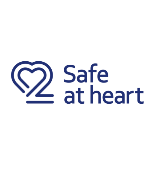 Safe at heart logo