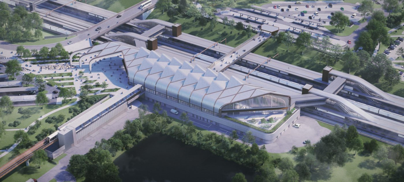 Solihull's Interchange Station will be at the centre of the high speed railway network HS2 Ltd will build.