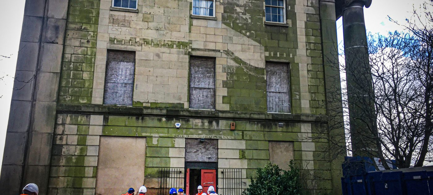 The historic building will be included into the Curzon Street Station design