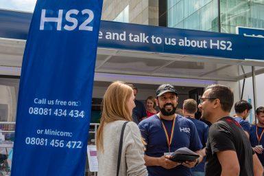 Meet the HS2 team in Warwickshire
