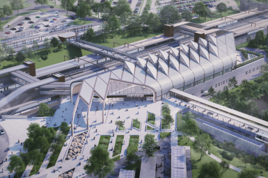 Interchange Station & automated people mover